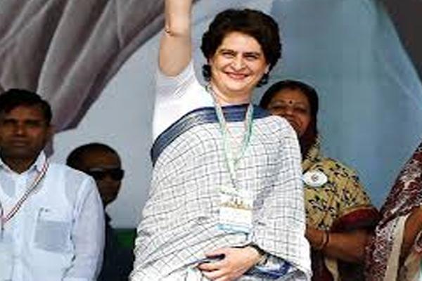 कांग्रेस महासचिव प्रियंका गांधी आज अंबाला में करेंगी चुनावी सभा